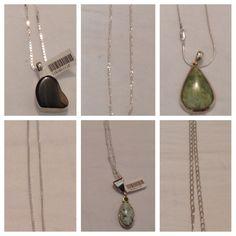 Great chains and pendants are here! #NativeAmerican #Navajo #artisans #handcrafted #handmade #NewMexico #IndianMountain #turquoise #onyx #malachite #sugilite #charoite #jet #hematite #sterlingsilver #chalcedony #agate #peridot #stones #genuine #catseye #tigerseye #gaspeite #amethyst #garnet #amber #howlite #pendants #chains #MadeInUSA #lapis #obsidian #topaz #carnelian #rhodochrosite #rhodonite #intarsia #applecoral #opal