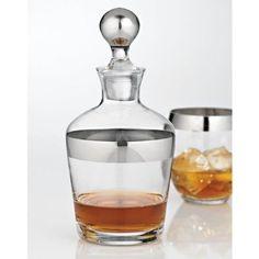 Madison Avenue Glass Whiskey Decanter. $32.99