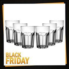 72e343691 Conjunto de copos produzidos em vidro Mor Modern com 6 peças de 500 ml de  capacidade cada. Copos