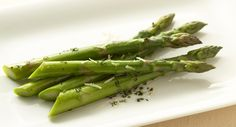 Herbed Asparagus--Fresh asparagus is accented by a perfectly flavored herb butter that is so easy to prepare.
