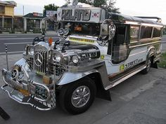 *Jeepney Buses – Art on Wheels in the Philippines...