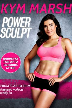This Kym Marsh Power Sculpt DVD will tone up your muscles, boost your metabolism and promote fat loss, and includes 6 separate workouts. Workout Dvds, Workout Videos, Coronation Street Blog, Kym Marsh, Lauren Goodger, Build Muscle Fast, The Last Laugh, Post Baby Body, Celebrity Workout
