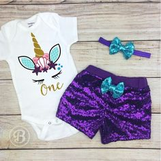 Mermaid Unicorn Baby Girl Outfit, Unicorn Mermaid Baby Girl Clothes, Mermaid Baby Girl Bodysuit, Purple and Aqua, Personalized Birthday Unicorn Baby Outfit, Baby Mermaid Outfit, Girl First Birthday, Baby Birthday, Birthday Ideas, Birthday Cake, Toddler Girl Outfits, Dress To Impress, Onesies