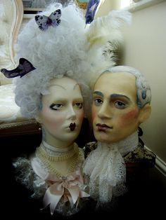 Vintage Mannequin, Mannequin Heads, Half Dolls, Sculpture, Rock Art, Event Decor, Female Art, Glass Art, Deco