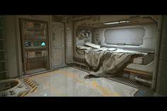 scifi bedroom                                                                                                                                                                                 More