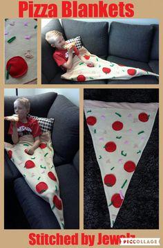 child pizza blanket. Pizza Blanket. food blanket. Kids blanket.  adult pizza blanket. Fleece pizza blanket. Snuggle Sack. by StitchedbyJewelz on Etsy