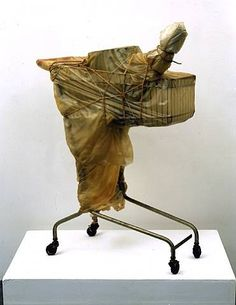 Christo and Jeanne-Claude, Packed Supermarket Cart