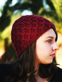 Knitting patterns hat - women pattern pdf - pattern hat - knitting patterns  - knit hat 66e7b573a50