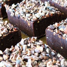 Gluten-Free Vegan Brownie Fudge {Raw, Paleo, Refined Sugar-Free}