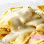 Ravioli de frango ao molho branco: Fotos: Natalia Valle Vocês sabem que adoramos uma massinha, né? Recentemente, a Perdigão lançou uma linha de massas frescas e nos enviou dois ...