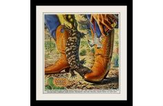 Hey, I found this really awesome Etsy listing at http://www.etsy.com/listing/108375841/nocona-cowboy-boots-gila-monster-ad