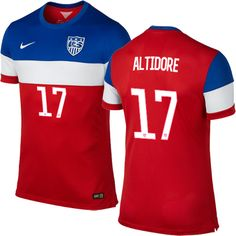 american national team 2017 gold cup united states dempsey donovan mens fifa world cup 2014 usa jozy altidore 17 away soccer jersey.