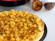 Tarte mangue, ananas et passion