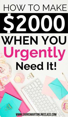 Make Money Blogging, Make Money From Home, Money Saving Tips, Way To Make Money, Earn Money, Make Money Online, Money Fast, Starting Your Own Business, Start Up Business