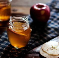Oh yeah!  I might be in the tropics, but that doesn't mean we can't have this for a happy hour treat!  Hot Bourbon Apple Cider