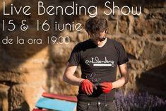 Live Bending Show www.artbending.ro