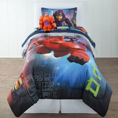 Disney Big Hero 6 Comforter & Accessories  found at @JCPenney