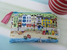 Coin purse, seaside theme £6.50
