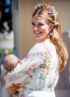 Christening of Princess Adrienne of Sweden.
