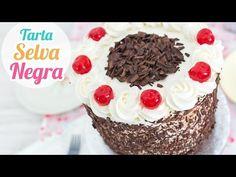 Tarta Selva Negra (Black Forest Cake)   Quiero Cupcakes! - YouTube