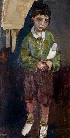 milk Bottle 'by Joan Eardley in the Coventry Herbert Museum & Art Gallery Painting People, Figure Painting, Aberdeen Art Gallery, Gouache, Gallery Of Modern Art, Museum Art Gallery, Popular Artists, Art Uk, Pastel