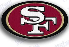 san francsico 49ers 49 ers 49ers    iron on by AUTOSPORTPATCHES, $7.50