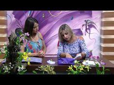 Mulher.com - 16/10/2015 - Orquídea em biscuit - Alessandra Assi PT2 - YouTube
