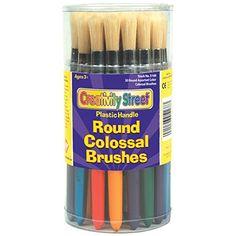 Chenille Kraft 5168 Plastic Handle Colossal Round Brushes... https://www.amazon.com/dp/B000KIA084/ref=cm_sw_r_pi_dp_x_SFq-xbH6NGE94