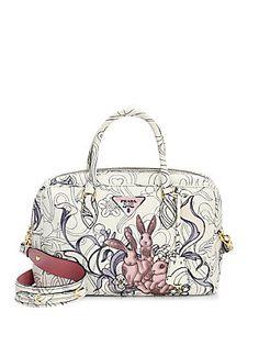 Alice in Wonderland Mad Hatter Shoulder bag Silk hat pouch pochette pass case