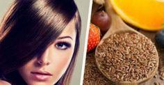 Hørfrøvand til at styrke dit hårs sundhed og glans — Bedre Livsstil Homemade Face Masks, Homemade Skin Care, Hair Dye Brush, Diy Beauté, Tanning Tips, Homemade Cosmetics, Strong Hair, Perms, How To Make Hair