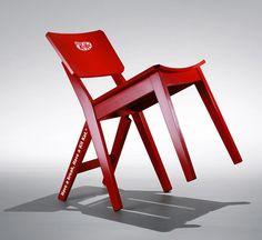 A cadeira Kit Kat para você dar uma pausa - Comunicadores.info