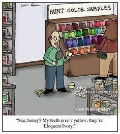 Are your teeth looking a little Eloquent Ivory? If so, come in and see us at Smart Mouth Family Dental. We can help you achieve your best smile! Dental Facts, Dental Humor, Nurse Humor, Dental Hygiene, Radiology Humor, Dentist Puns, Zoom Whitening, Teeth Whitening, Orthodontic Humor