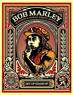 ☯☮ॐ American Hippie Psychedelic Art ~ Bob Marley - OBEY Shepard Fairey street artist . revolution OBEY style, street graffiti, illustration and design posters. Pop Art, Chef D Oeuvre, Oeuvre D'art, Shepard Fairey Art, Shepard Fairy, Obey Art, Plakat Design, Little Bit, Band Posters