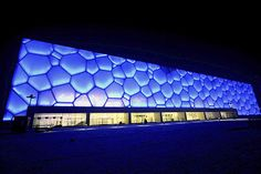 Beijing National Aquatics Centre 'The Water Cube'