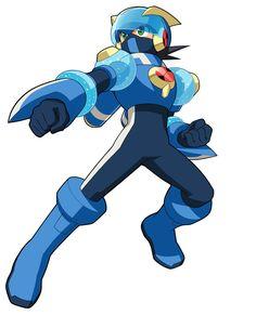 Megaman Aqua Cross