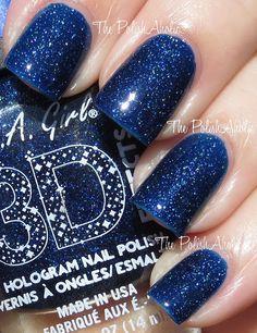LA Girl 3D Effects: Brilliant Blue