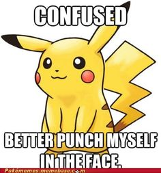 pokémon - It Hurt Itself in its Confusion