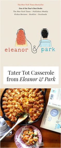 Get ready to win book club with this recipe from 'Eleanor & Park' - a sweet novel about growing up in the 80s and 90s. So good! >> yesandyes.org