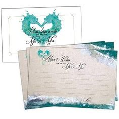 50 Beach Wedding Advice Cards - Well Wishes for Bride and Groom - Perfect for Guest Book Alternatives, Bridal Shower Games, Wedding Decorations for Reception, Marriage Advice for the Mr and Mrs Wedding Flags, Beach Wedding Reception, Beach Wedding Flowers, Beach Wedding Decorations, Beach Wedding Favors, Lantern Centerpiece Wedding, Wedding Lanterns, Wedding Advice Cards, Guest Book Alternatives