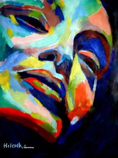 "Saatchi Online Artist Helena Wierzbicki; Painting, """"Autumnal reflections"""" #art"