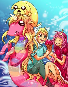 adventure time by michellescribbles They're all fucking mermaids.