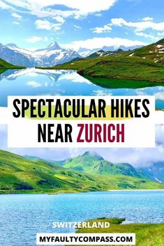 Hiking in & around Zurich is one of the best things to do while in the city to see some of the most incredible, untouched beauty of the Swiss Alps. Zurich is located perfectly to explore some of the best hikes in Switzerland. Read on for a local's guide to the most recommended hikes near Zurich!Hiking Switzerland | Hike Zurich | Places to visit Switzerland | Hidden gems Switzerland | Hiking Swiss Alps | Switzerland travel | Nature | #MyFaultyCompass #Switzerland #HikingSwitzerland #SwissAlps Switzerland Travel Guide, Places In Switzerland, Visit Switzerland, Europe Destinations, Europe Travel Tips, European Travel, Best Hikes, Zurich, Hiking Trails