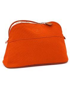 hermes pouches Tohubohu orange/chalk