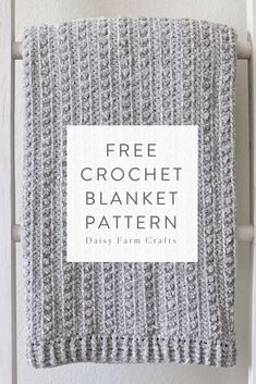 Free Crochet Blanket Pattern - Velvet Berries Throw