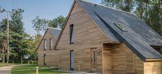 Arquitectura sostenible con cubiertas de pizarra | #CUPAPIZARRAS #construcción #casa