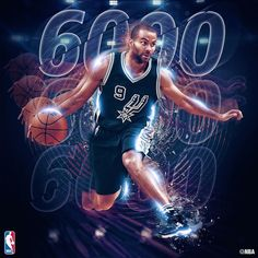 Instagram 上的 NBA:「 @_tonyparker09 of the @spurs becomes the 34th player in NBA history to surpass 6,000 assists! 」