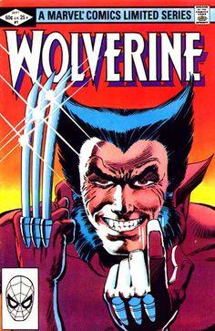frank miller wolverine | Wolverine v1 #1 - Frank Miller art 1980s marvel comic book cover