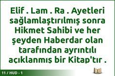 #ALLAH #KURAN #HUD  11 / HUD - 1