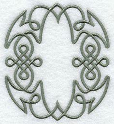 Celtic Knotwork Letter O - 5 Inch