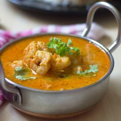 This is a mild hot and bit sweet prawn curry from the Malabar. It goes well with rice or roti.